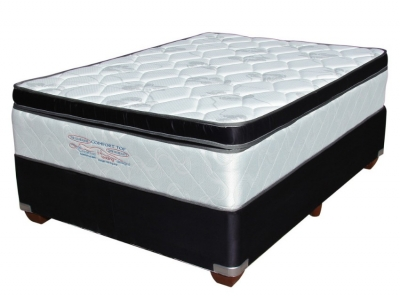 Comfort Top Double Base and Mattress