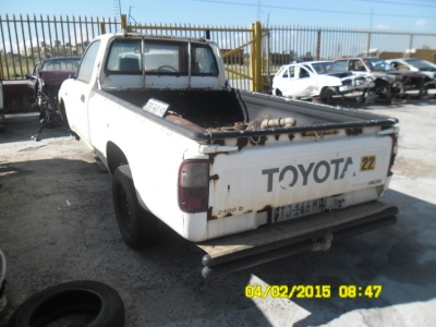 Toyota Hilux 2.4 Diesel - Stripping for Spares