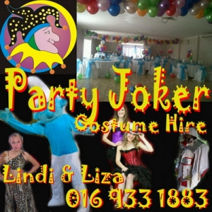 Pasty Joker Costume Hire