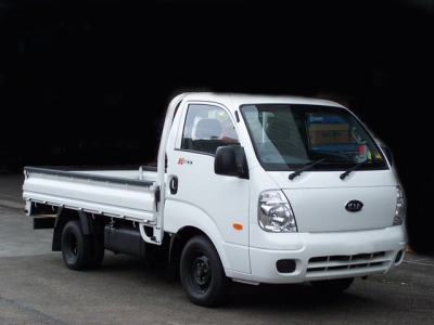 Rent a 1.3 Ton Kia Workhorse with Driver