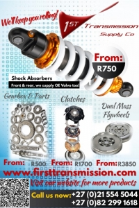 Gearbox, diff, parts, spares, clutches, shocks.